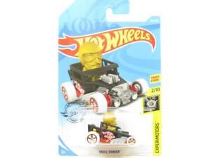 Hotwheels Crâne Agitateur Noir Experimotors 125 / Long Carte 1 64 Echelle Scellé
