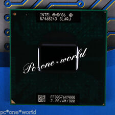 100% OK SLAQJ SLAZ3 Intel Core 2 Extreme X9000 2.8 GHz Laptop Processor CPU