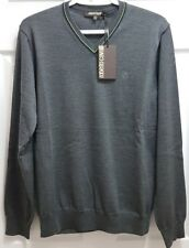 ROBERTO CAVALLI Men's V-neck Knitted Sweater 2018 Collection NWT Authentic