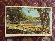Vintage Postcard Loring Park, Minneapolis, Minnesota