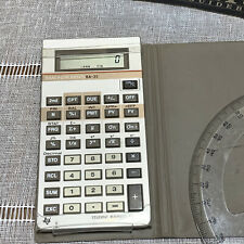 TI Texas Instruments BA-35 Business Calculator Finance Statistics Functions