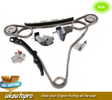 Timing Chain Kit For Nissan skyline Stagea M35 2.5L V6 VQ25DD Engine 2001-2007