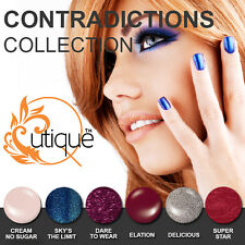 QUTIQUE Gel Nail Polish Colour Kit/Pack/Set -CONTRADICTIONS COLLECTION-Pro Qual