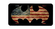 American Flag Batman license plate, law enforcement, police, support