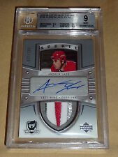 05-06 The Cup ANDREW LADD Auto SICK 4CLR Patch RC BGS 9 / AUTO 10 77/199