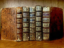 LOT OF OLD BOOKS from XVIIIth century