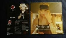 MADONNA OFFICIAL 2005 CALENDAR + OFFICIAL CARD MINT RARE REBEL HEART