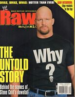 WWF Raw August 2002 Stone Cold Steve Austin VG 032916DBE