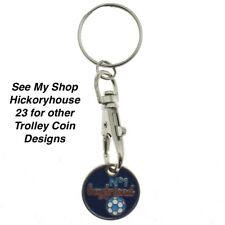 No1 BOYFRIEND SHOPPING TROLLEY Token Coin Key Ring Christmas Valentine Gift Idea