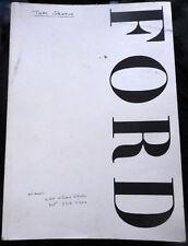 Vtg FORD Model Agency book 1990s Christie Brinkley Jerry Hall Christy Turlington