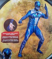NEW Power Rangers BLUE Ranger Adult Men's Costume XXL 2XL 50-52 Halloween
