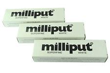 3 confezioni Superfine Bianco Milliput Epossidica Stucco Modellazione Scultura Di Ceramica X1018b