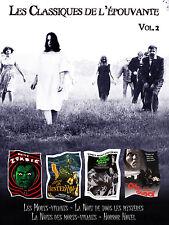 Coffret 4 DVD Les Classiques de l'épouvante Vol 2