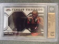 2011 Topps Finest UFC Jon Jones  BGS 9.5 Gem Mint Finest Threads MMA Champion