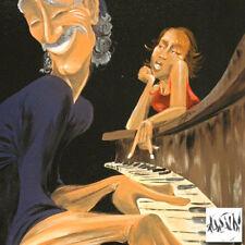"David Garibaldi ""Inspired Piano Hand Embellished Giclee Canvas w/COA ED# 23/300"