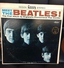 Beatles Meet The Beatles LP US Apple Press Gold Record Award Vinyl Stereo Lennon