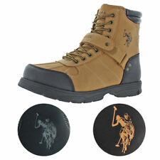 U.S. Polo Assn. Connor Men's Buckle Duck Toe Boots