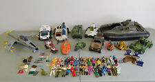 Vintage G.I. Joe ARAH Lot of 30 Figures Vehicles Playset and Accessories