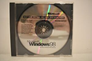 Microsoft Windows 98 for PCs without Windows