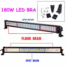 32 inch 180W LED LIGHT BAR COMBO Offroad DRIVING LAMP 4WD WORK ATV UTE 12V NEW