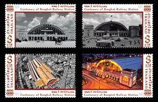 4 x 100th Anniversary of Bangkok Railway Station Thailand 25.6.2016