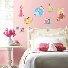 RoomMates Disney Princess Friendship Wall Stickers Girls Glitter Wall Decals