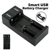 Dual Slot Intelligent Battery Charger For 18650 AAA NI-MH Rechargeable Batteries