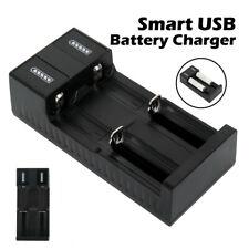 2 Slot Intelligent Battery Charger Smart For 3.7V 18650 26650 14500 10440 Li-ion