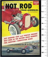 Vtg Hot Rod Magazine Annual 1960 Trend Book Chevy Pontiac Drag Race Roadster