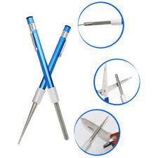 New listing Diamond Grit Sharpener Rod Pen-File HuntingOutdoor Kitchen Knife Sharpener pv