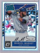 MANUEL MARGOT - 2017 Optic Rated Rookie HOLO AUTO /150 - Padres RC