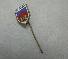 Vintage Krakow Poland City Shield Enamel Stick Pin