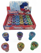 New Transformers 24x w/ Box Self Ink Stamps Birthday Party Favors Bag Filler~