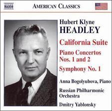 Hubert Klyne Headley: California Suite; Piano Concertos Nos. 1 & 2; Symphony No.