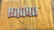10 PCS 2Watt  Carbon Film Resistors 2W Resistor 5% YOU CHOOSE VALUE