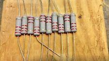 10 Pcs 2watt Carbon Film Resistors 2w Resistor 5 You Choose Value