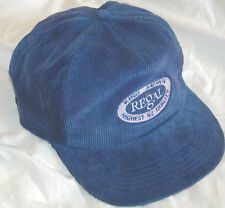 06d83f219ee17 Vtg Rare REGAL KING SALMON Snapback Hat CAP New Zealand AUSTRALIA Corduroy  LOGO