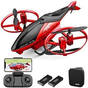 2021 NEW M3 Mini RC Drone FPV Wifi Wide-angle 4K HD Dual Camera Selfie Foldable