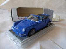 NZG 1/43 - Porsche 911 C2/4 Cabriolet blau