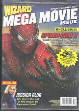 WIZARD MAGAZINE MEGA MOVIE SPECTACULAR # 3 SUMMER 2007 SPIDERMAN JESSICA ALBA