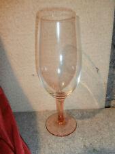1 Luminarc  Bierglas Rotwein Weinkelch Cocktailglas rosa Fuß und Stiel 70er