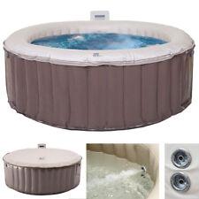 Whirlpool MSpa MCW-A62, 4 Personen Massage heizbar aufblasbar Ø180cm FI-Schalter
