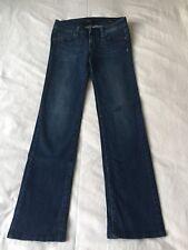 Ladies Dark Blue American Denim Jeans, Size 28