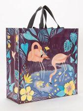 "Flamingos Shoppers Tote New Re-Usable 15""h x 16""w x 6"" Mingo Fashion"