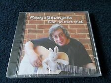 New & Sealed, GEORGE PAPAVGERIS - For My Next Trick, CD Album 2005, IRR061, Folk