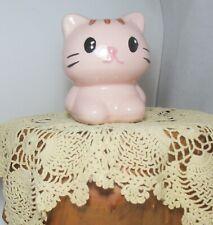 Kitty Coin Piggy Money Bank Super Cute New