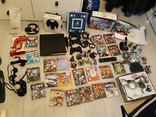Sony PlayStation 3 - Slim 250GB Charcoal Black Console. Huge Bundle with extras
