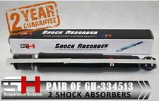 2 NEW FRONT SHOCK ABSORBERS FOR TOYOTA LAND CRUISER J100/GH-334513K/