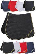 Schabracke mit Namen Kerbl Classic D oder VS  - Zuwahl 4er Set Bandagen möglich