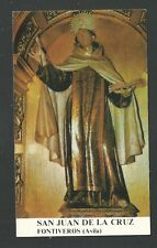 Estampa San Juan de la Cruz andachtsbild santino holy card santini